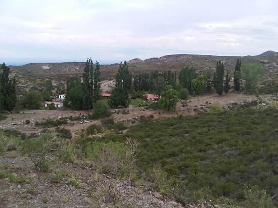 Tupungato, Argentine : View from a close hill, while horse backridding