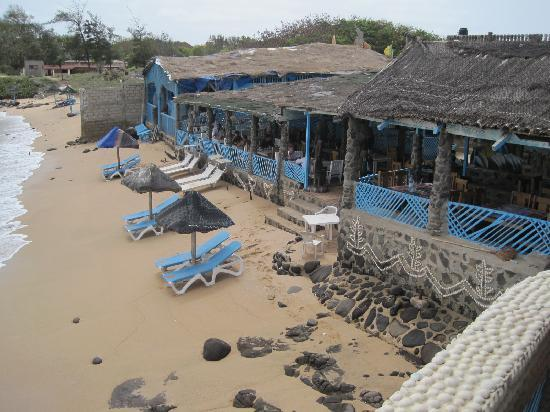 Divine seafood restaurants in Dakar