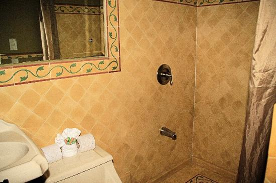 1915 Hotel: Bathroom w/Shower (right)