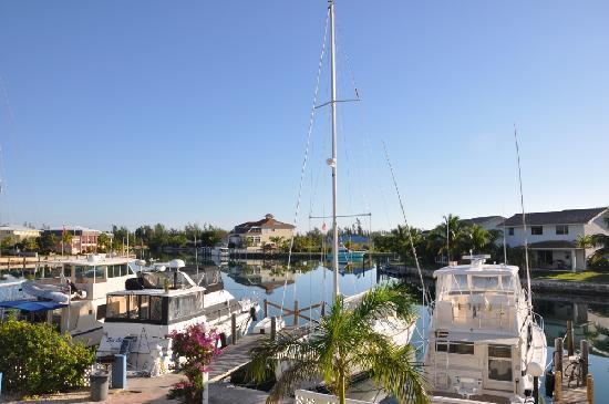 Ocean Reef Yacht Club & Resort: Desde el balcon