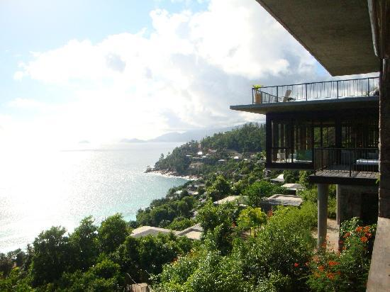 Four Seasons Resort Seychelles: view from the spa