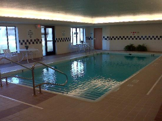 Holiday Inn Express Hotel & Suites East Lansing: Pool