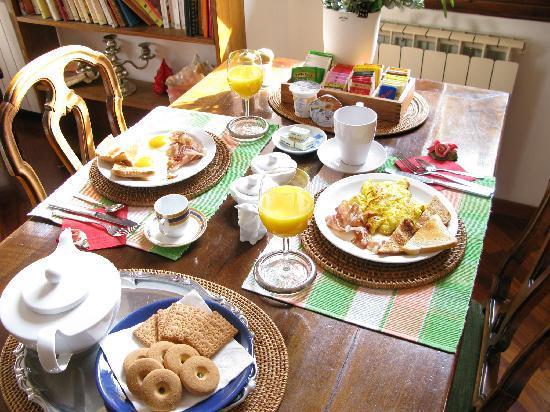 Gourmet Giglio Bianco B&B: breakfast