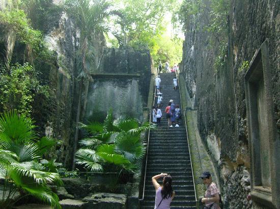 Nassau, New Providence Island: die treppe der queen