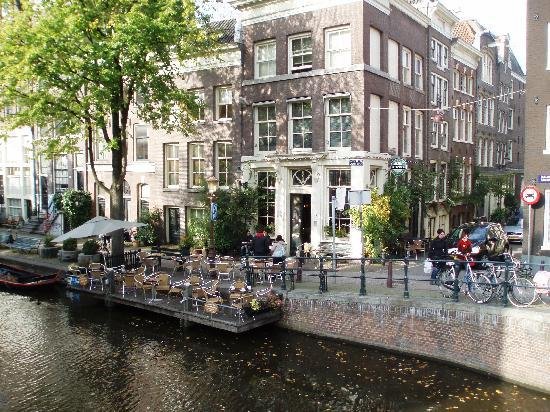 aan de gracht... - Picture of Cafe Smalle, Amsterdam - TripAdvisor Smalle on