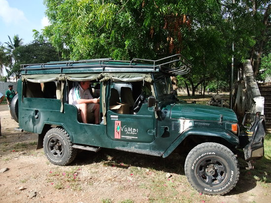 Vumbi Jeep Safaris: Our Jeep