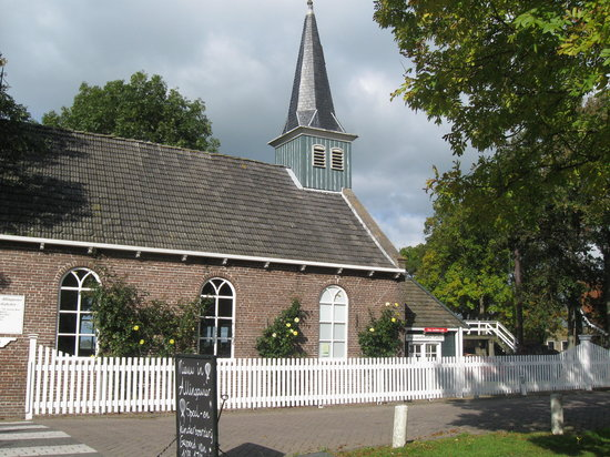 Friesland Province, The Netherlands: Exposition church