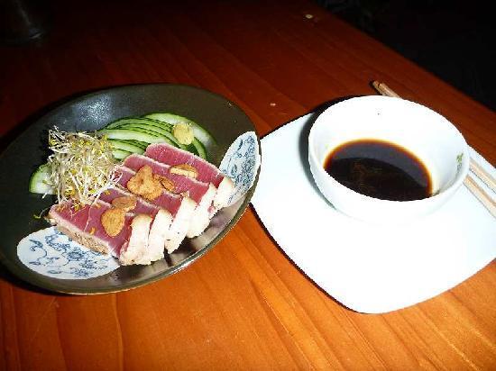 Cafe Kujaku : まぐろたたき