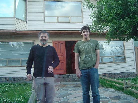 Keoken Patagonia Bed & Breakfast: A simpatia de Rodrigo e Felipe