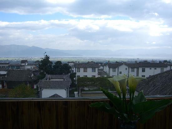 Heshunju Inn: view from kafe