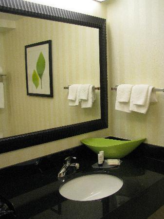 Fairfield Inn & Suites Columbia Northeast: Gorgeous bathroom