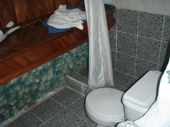 Casa Blanca: bathroom toilet/shower