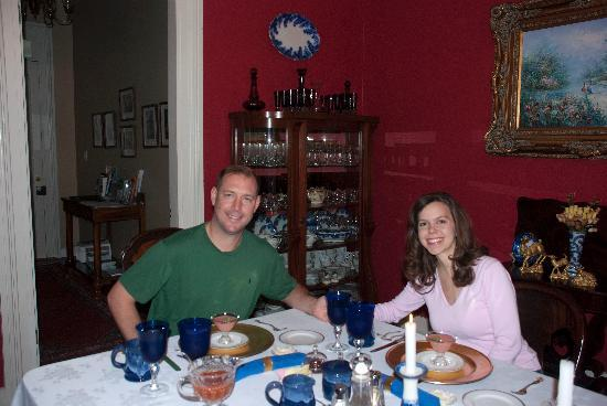 Claiborne House Bed and Breakfast: Our Fantastic Gourmet Breakfast