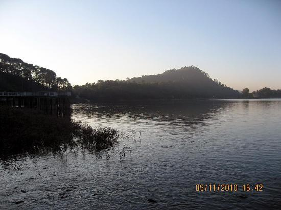 Beautiful Mansar Lake