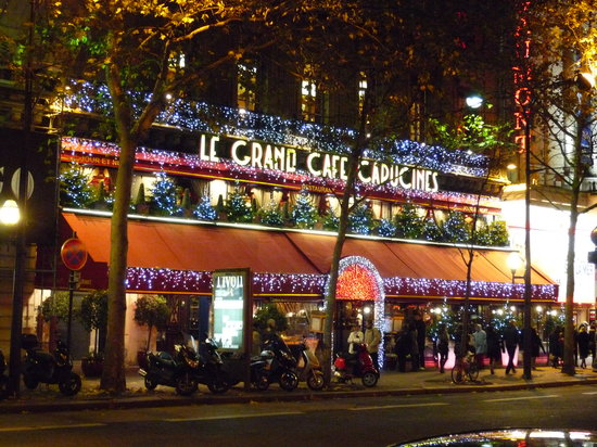 Cafe Capucines Restaurant Paris