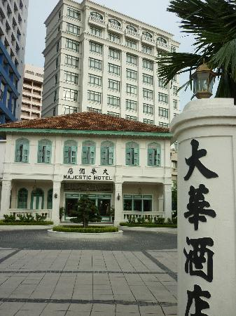 The Majestic Malacca: Front of the Hotel