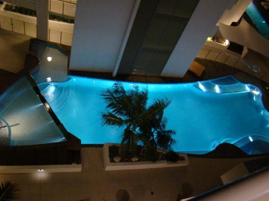 Rumba Beach Resort: la piscina dalla nostra camera