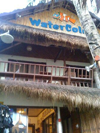 WaterColors Boracay Dive Resort: Front view