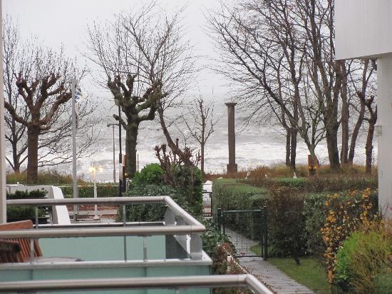 Ostseebad Binz, Deutschland: Blick vom Balkon auf die Ostsee