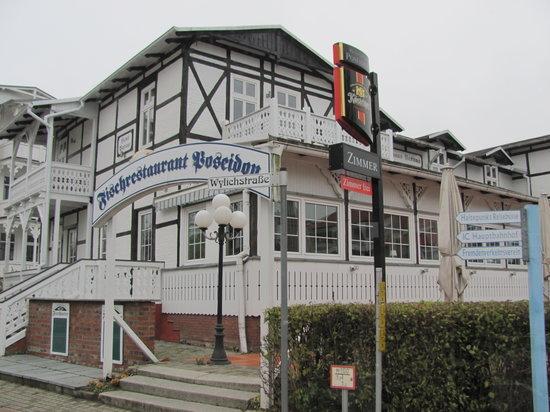 Ostseebad Binz, Deutschland: Restaurant Poseidon