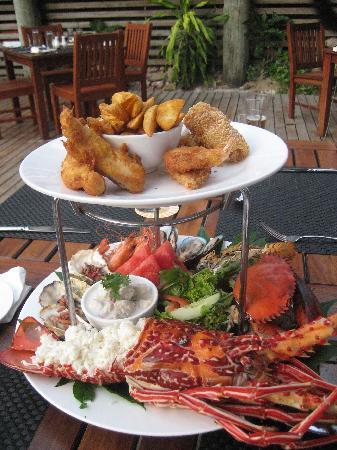 Malolo Island Resort: seafood platter