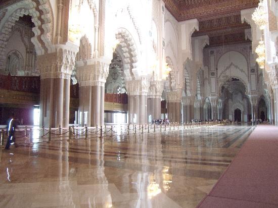 Casablanca, Marokko: Salle de prière de la Mosquée