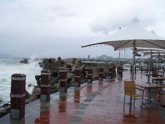 Radisson Blu Hotel Waterfront, Cape Town: cape weather