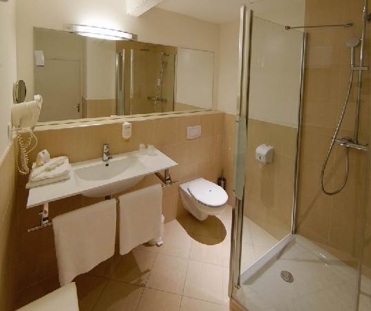 Hôtel le Clocher de Rodez : une salle de Bain