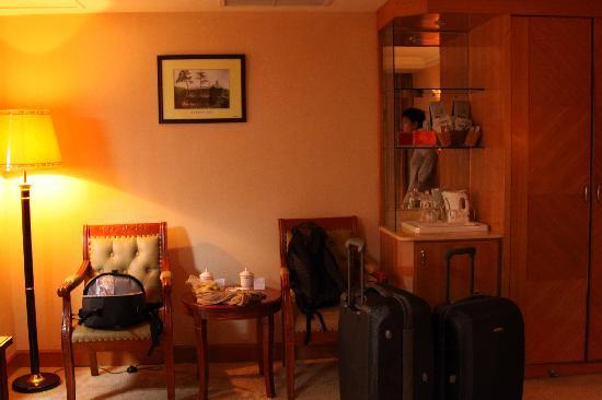 Chengde Hotel : coin salon