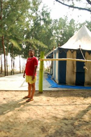 Mandarmoni, Индия: OUR TENT