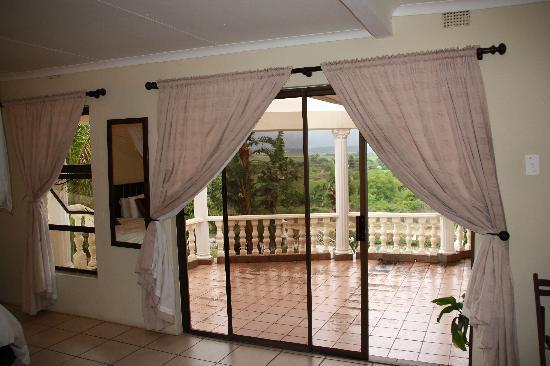 Lebombo Villa: Blick auf Terrasse