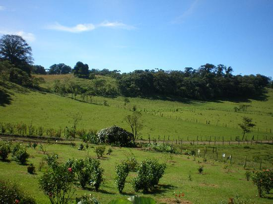 Esteli, نيكاراجوا: Preciosa vista desde la cabaña