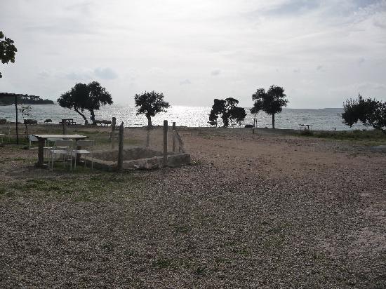 Apollonium Spa & Beach Resort: Beach