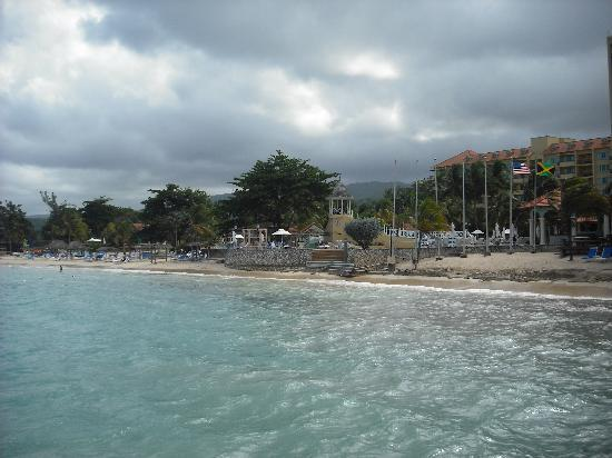 Jewel Dunn's River Beach Resort & Spa, Ocho Rios,Curio Collection by Hilton: view of resort and beach from the ocean