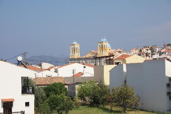 Archangelos Village: view from roofgarden