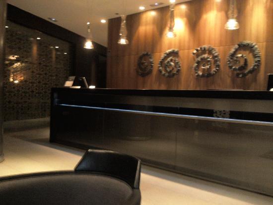 AC Hotel Sevilla Torneo: Lobby (entrada del hotel)