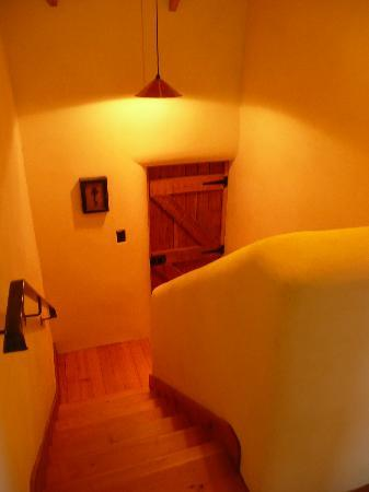 The Hayloft: Our stairway to heaven!