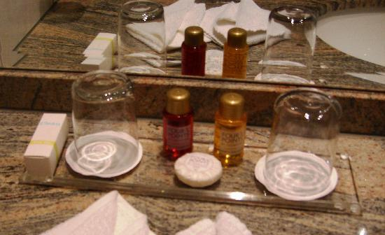 Arabella Brauneck Hotel: Toiletries