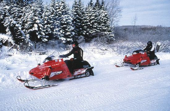Deep Creek Lake State Park: Snowmobiles, Dog Sleds, Snow Shoes and more
