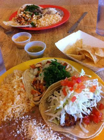 El Chubasco: Lunch was great!