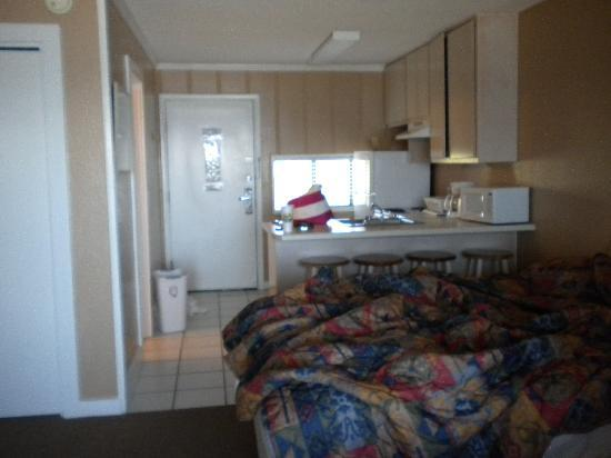 Sea Oats Motel Inside Room