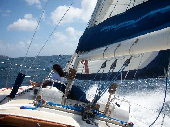 Jester Sailing Adventures: Sailing away