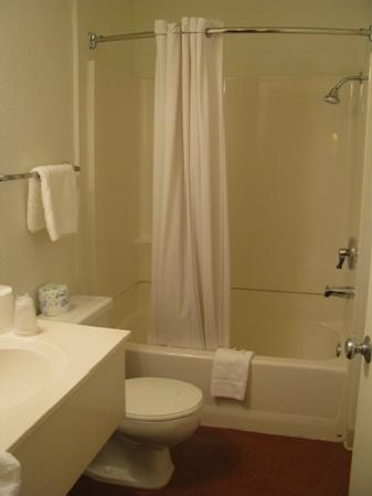 Motel 6 Twentynine Palms: The bathroom