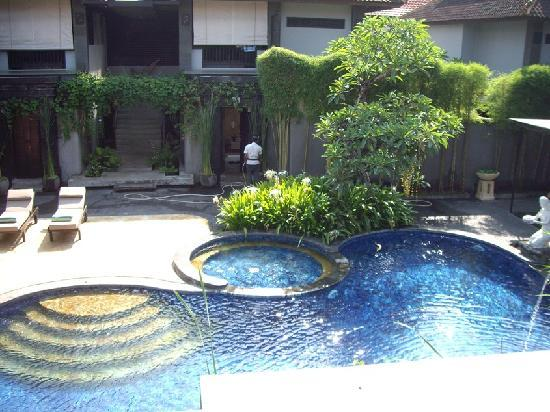Annora Villas Seminyak: view from balcony
