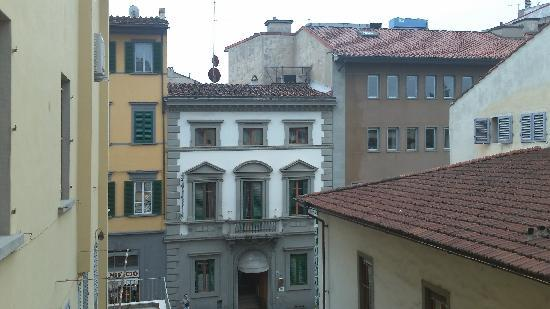 Residenza Millenium: view from patio
