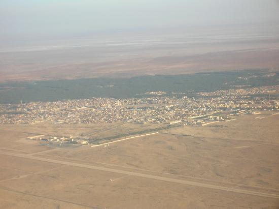 Τοζέρ, Τυνησία: Tozeur vue aérienne