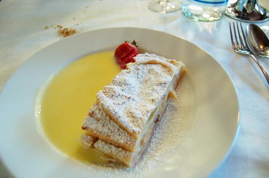 Restaurant Sigmund Ristorante: strudel di mele