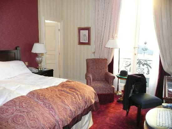 InterContinental Paris Le Grand: Belle chambre ceci dit...