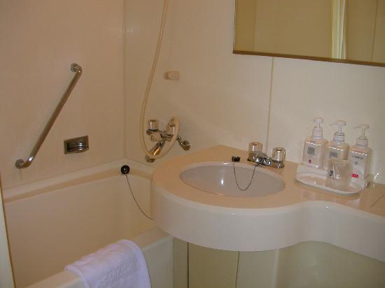 Hotel Sunroute Asakusa: バスルーム
