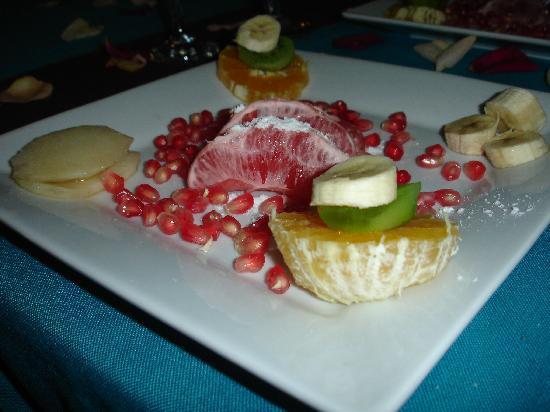 Riad Mille et une Nuits: la frutta